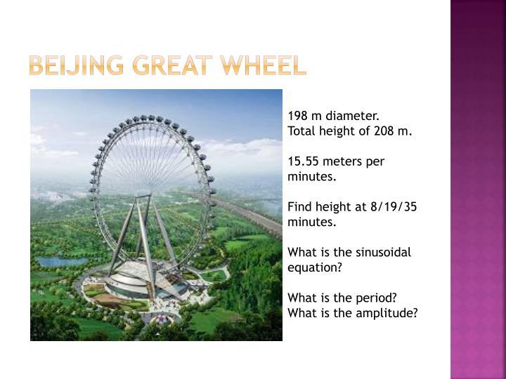 Beijing Great Wheel