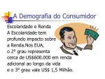 a demografia do consumidor5