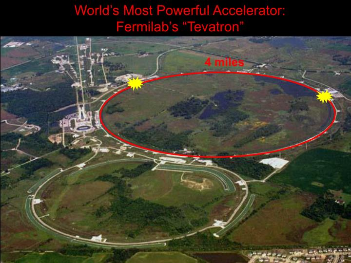 World's Most Powerful Accelerator: