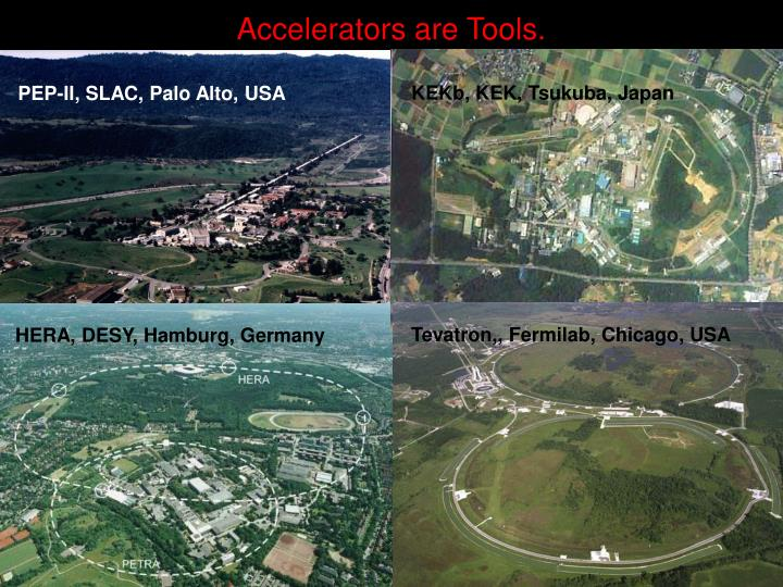 Accelerators are Tools.