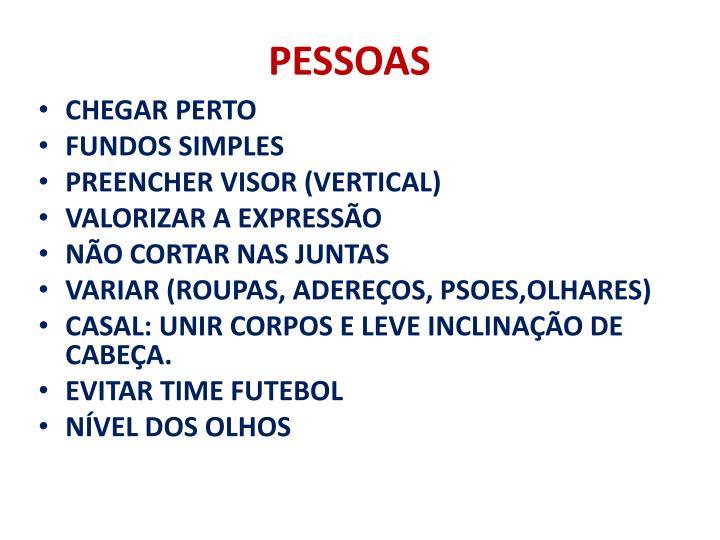 PESSOAS