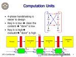computation units