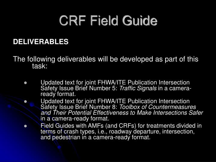 CRF Field Guide