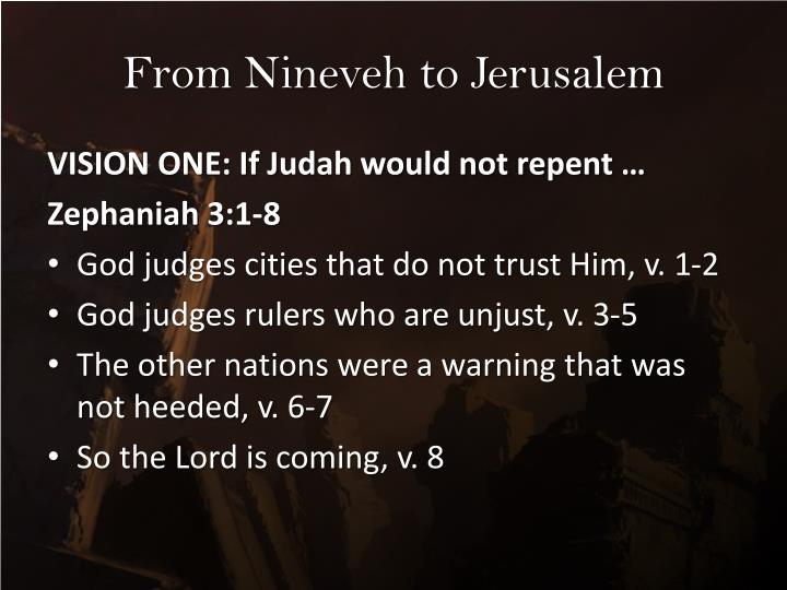 From Nineveh