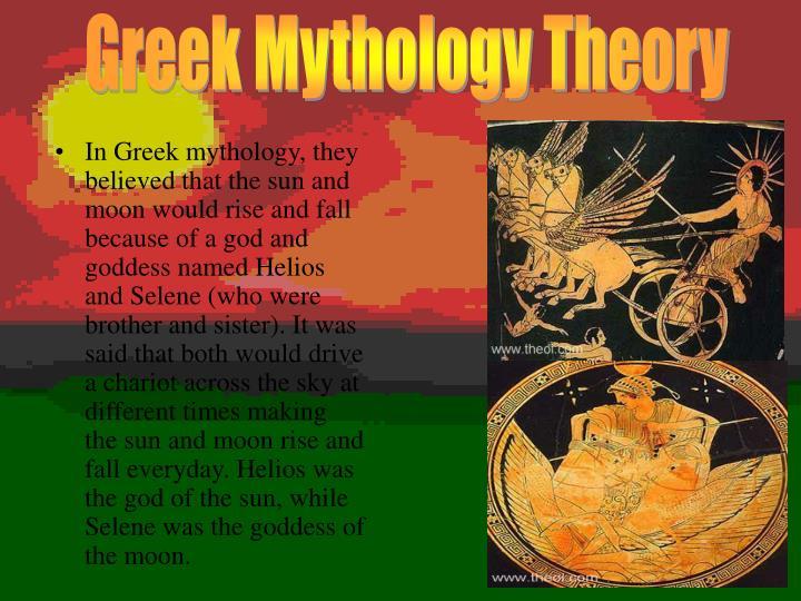 Greek Mythology Theory