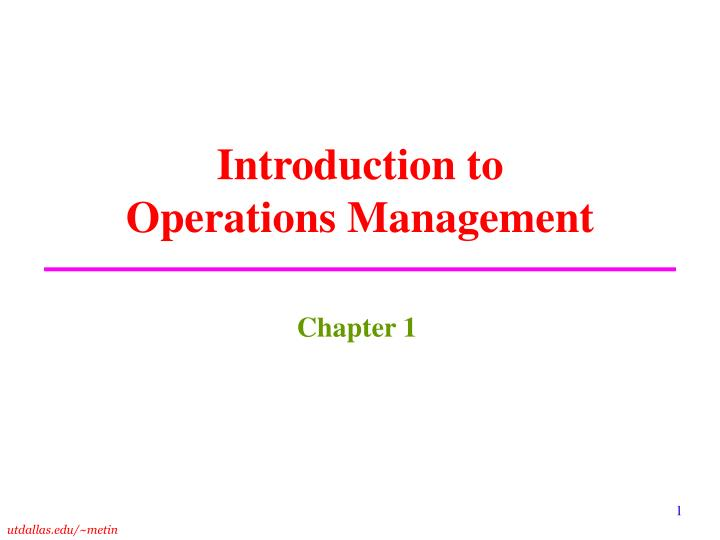 operations management hiking experience Introduction to operations management is a great course that gives you a lot of knowledge on how to improve operations in an organization it introduces the learners to the 4 dimensions of operations performance - efficiency, quality, responsiveness and variety.