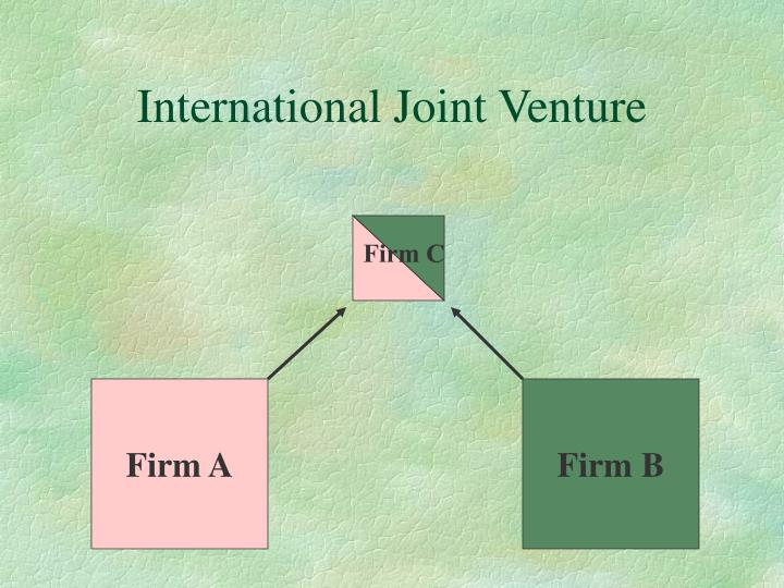 International Joint Venture