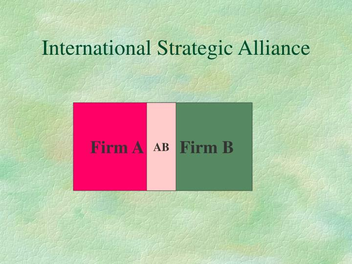 International Strategic Alliance