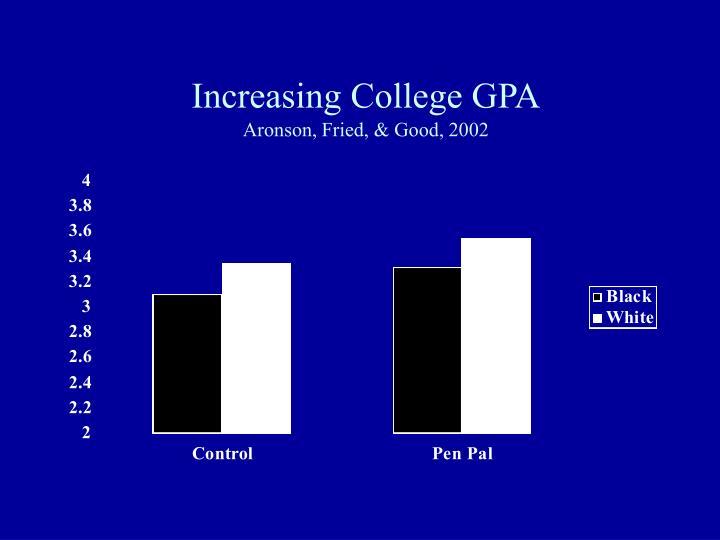 Increasing College GPA