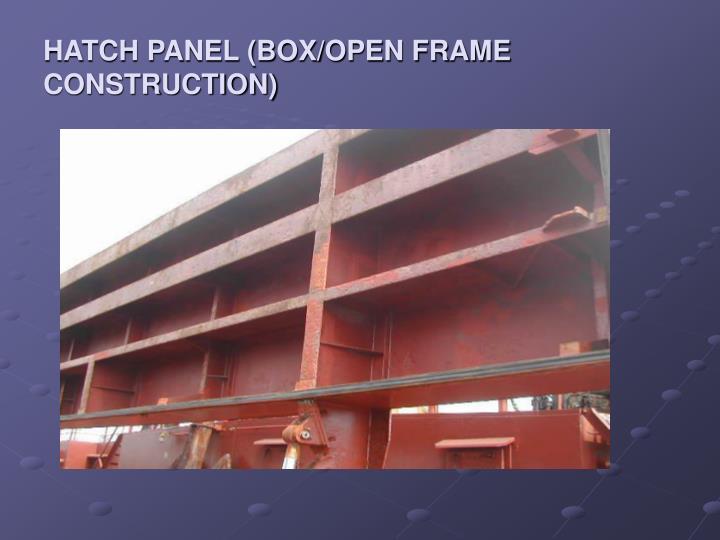 Ppt 艙口蓋與貨艙 Hatch Cover Amp Hold Powerpoint Presentation