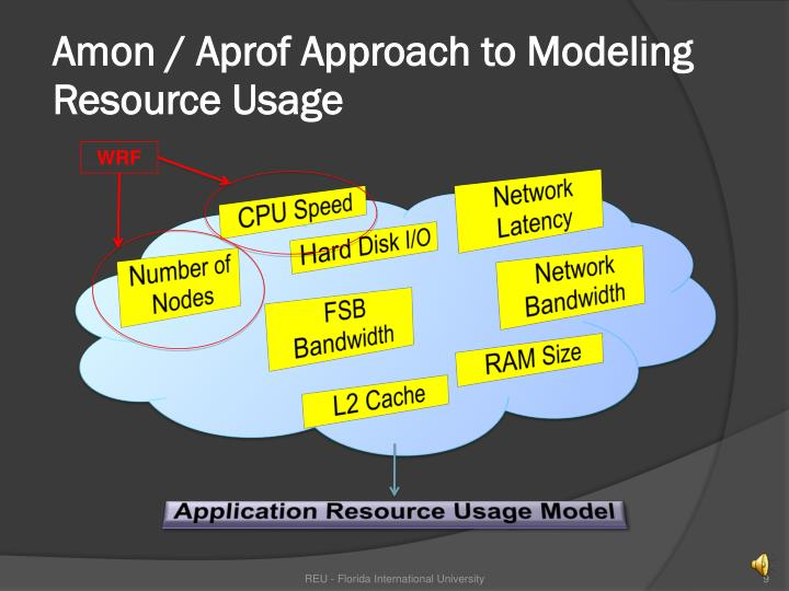 Amon / Aprof Approach to Modeling Resource Usage