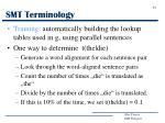 smt terminology6