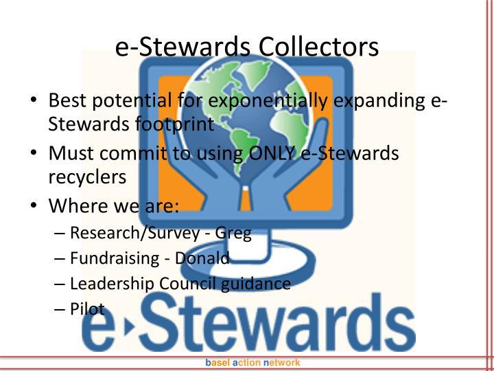 e-Stewards Collectors