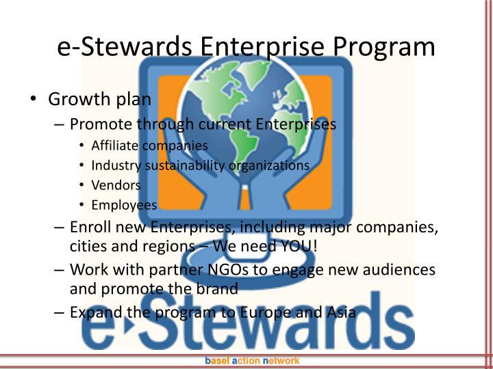 e-Stewards Enterprise Program