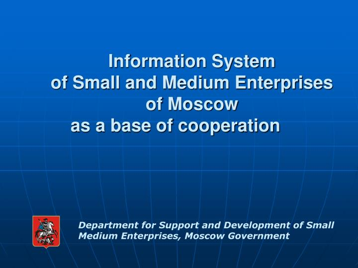 cooperative marketing of small and medium enterprises Small and medium tourism enterprises unlike the sustainable tourism cooperative accepted by tourism industry personnel.