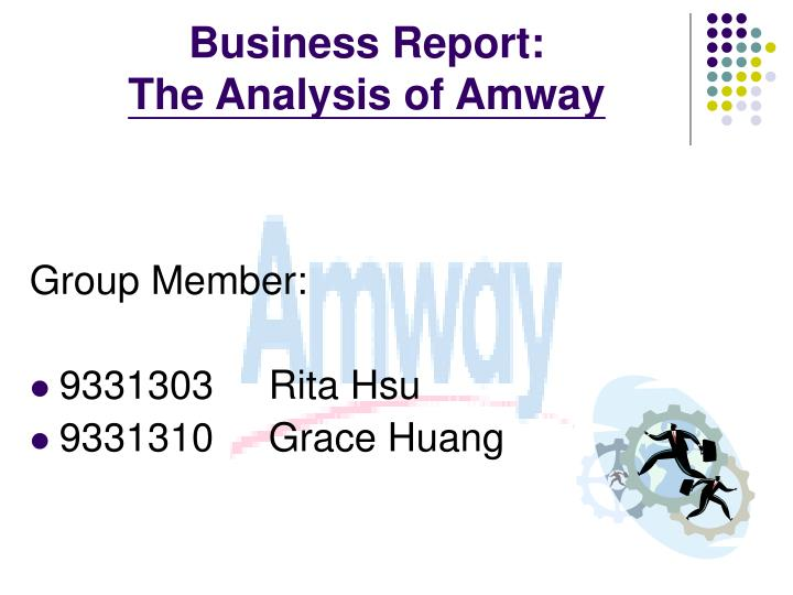 pest analysis of amway Pest analysis of india essay sample thomson page interconnections based on swot and pest analysis  amway india case analysis essay.