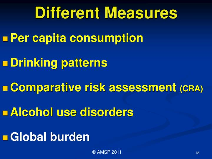 Different Measures