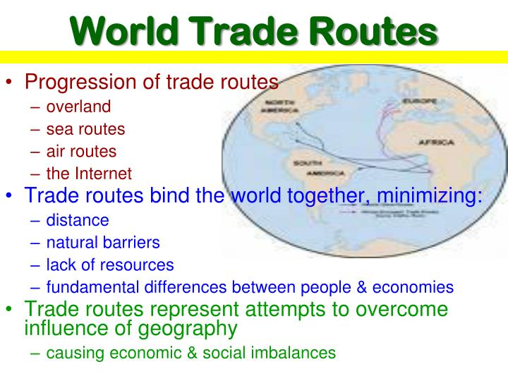 World Trade Routes