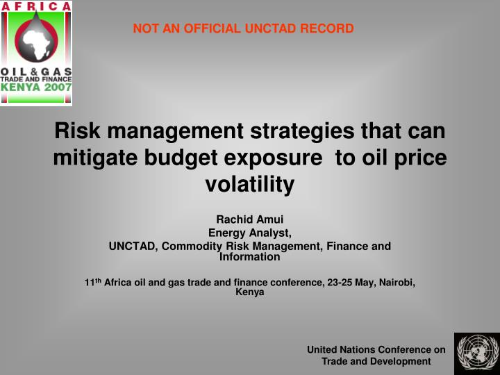 risk management and price volatility Actuarial review for price volatility factor submitted to the risk management agency for price risk, the volatility estimate used in ratemaking should be.