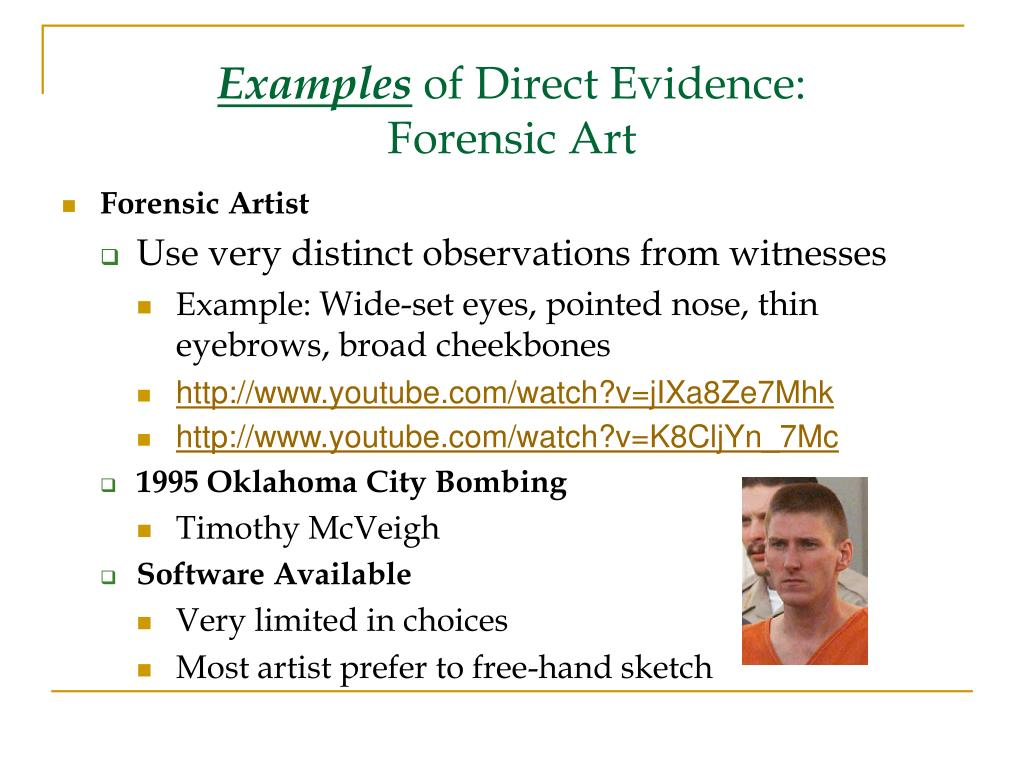 Ppt Types Of Evidence Powerpoint Presentation Free Download Id 3942979