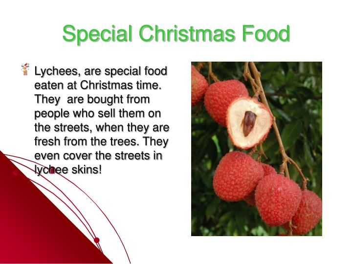 Special Christmas Food