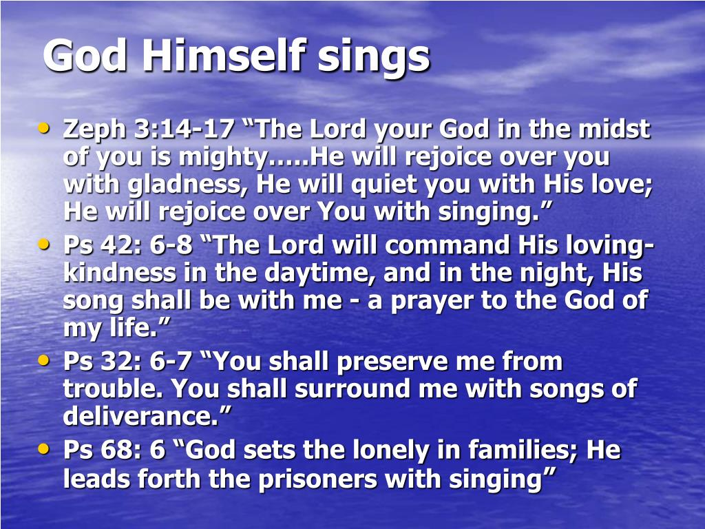PPT - Singing the Song of the Lord PowerPoint Presentation