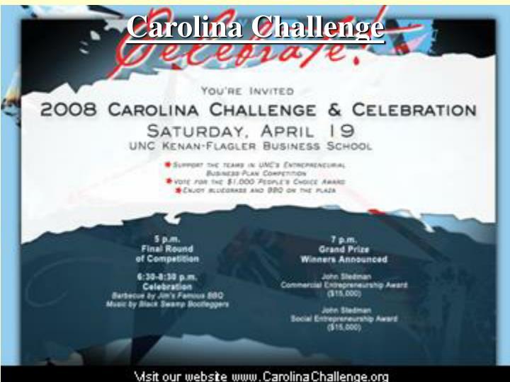 Carolina Challenge