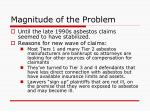 magnitude of the problem2
