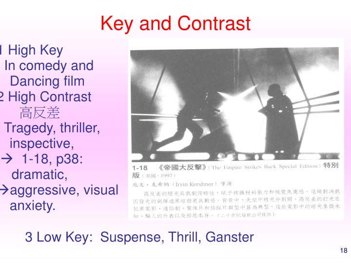 Key and Contrast