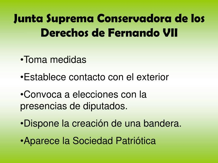Junta Suprema Conservadora de los Derechos de Fernando VII