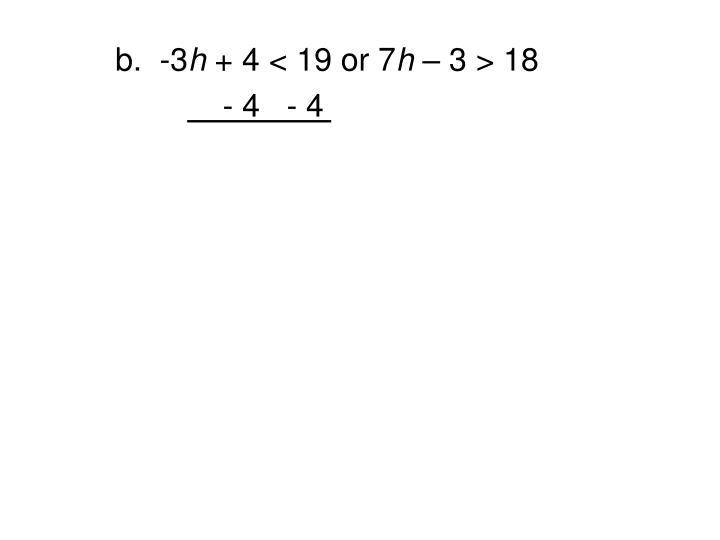 b.  -3