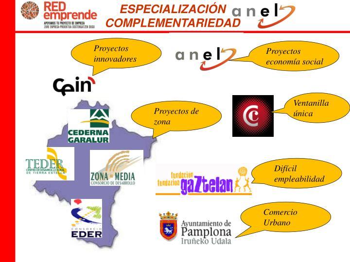 ESPECIALIZACIÓN  COMPLEMENTARIEDAD