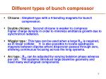 different types of bunch compressor1