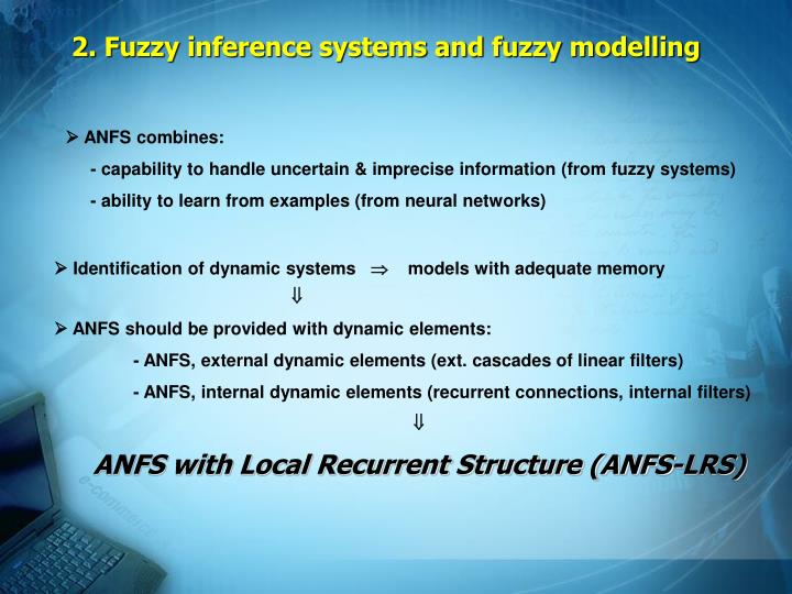 2 fuzzy inference systems and fuzzy modelling1