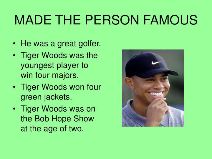 tiger woods bob hope