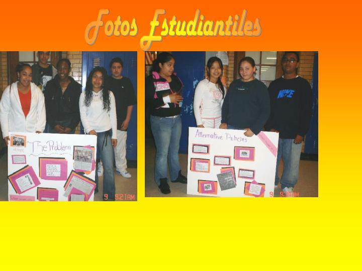 Fotos Estudiantiles