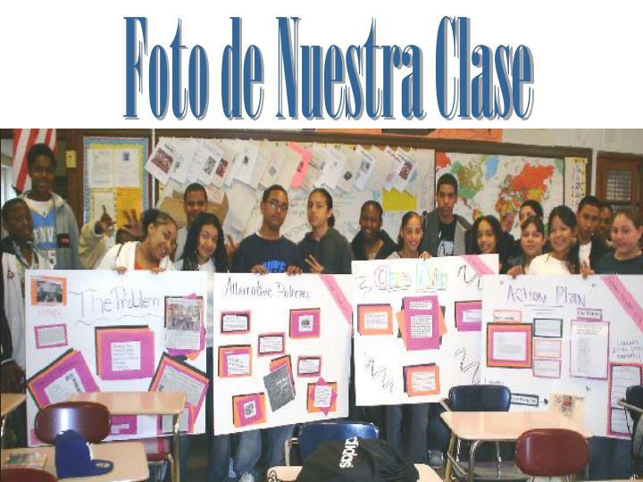 Foto de Nuestra Clase