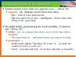 language points paraphrases12