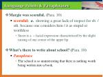 language points paraphrases6