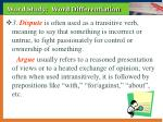 word study word differentiation