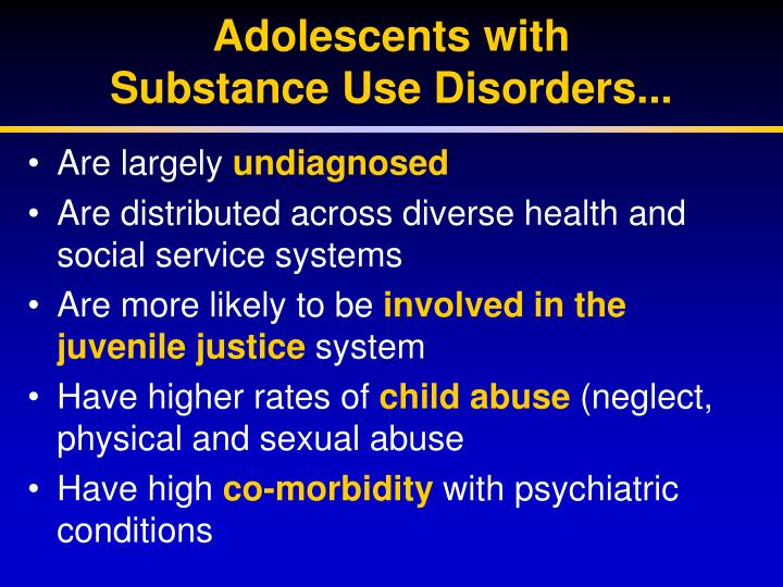 Adolescents with