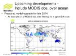 upcoming developments include modis obs over ocean1
