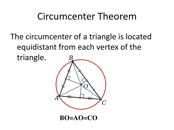Circumcenter Theorem