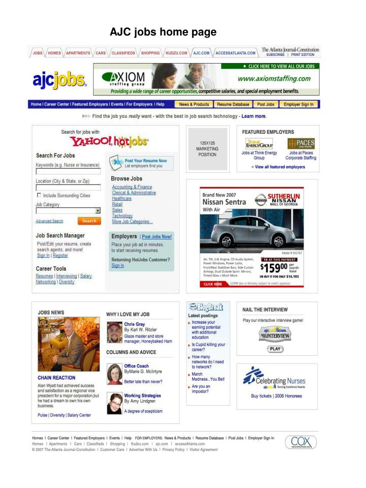 ajc jobs home page n.