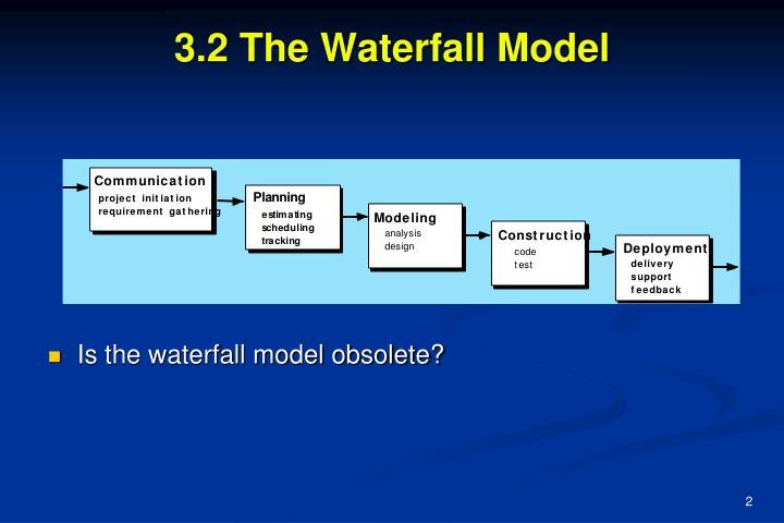 3 2 the waterfall model