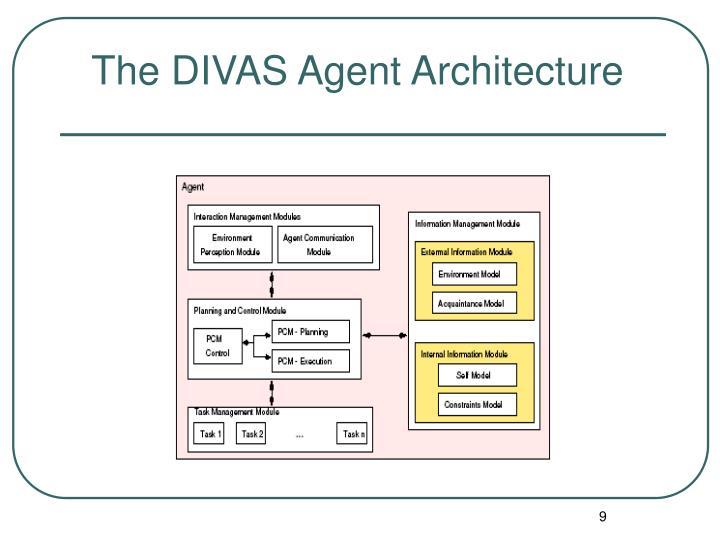 The DIVAS Agent Architecture