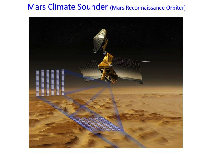 Mars Climate Sounder