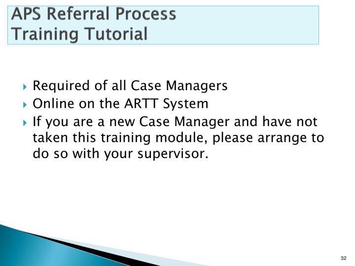 APS Referral Process