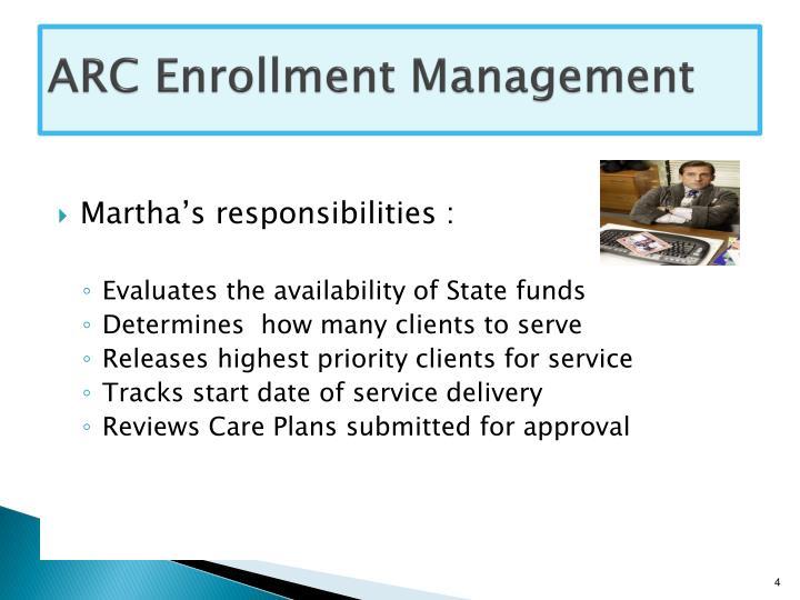 ARC Enrollment Management