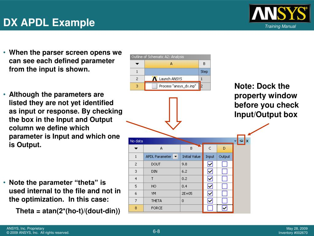 PPT - DesignXplorer and APDL PowerPoint Presentation - ID